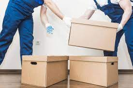 Arrangements made by relocation services
